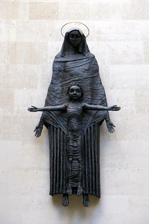 Fig. 1 Jacob Epstein, Madonna and Child (1953).