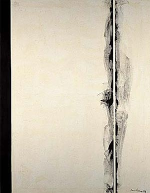 Fig. 11 Barnett Newman, The Stations of the Cross: Lema Sabachthani: The First Station (1958).