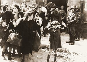 Fig. 20 Photograph from the Stroop Report about the liquidation of the Warsaw Ghetto (1943).