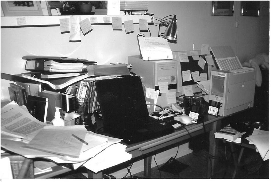 Valokuva 1: Kouluetnografin työpiste