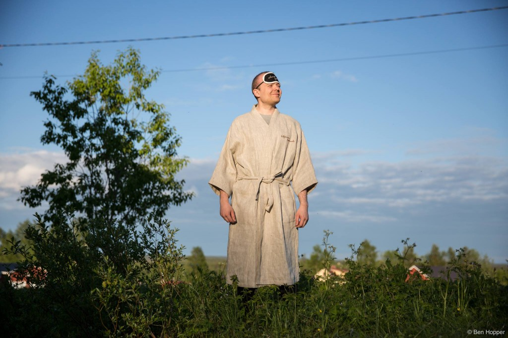 """Kuva: Ben Hopper. Hiljaisuus-festivaali järjestettiin tänä vuonna järjestyksessäänkahdeksannen kerran. """"Mitkään kestävät asiateivät tapahdu kannulla kaatamalla. Tätä rakennetaan pala palalta,"""" totesi Hiljaisuus-festivaalin järjestäjä, sydän ja sieluJoonas Martikainen."""